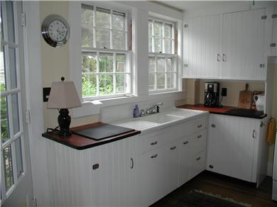 West Harwich Cape Cod vacation rental - Clean and sunny kitchen.