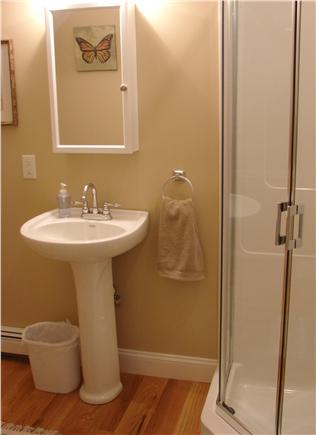 West Brewster / East Dennis  Cape Cod vacation rental - Main floor bathroom with walk-in shower