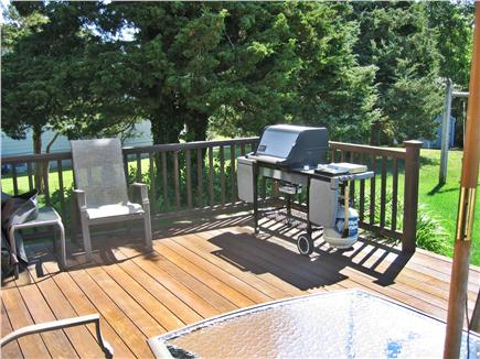 Dennis Cape Cod vacation rental - Back deck