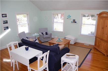 East Sandwich Cape Cod vacation rental - Large 18' x 18' Living Room