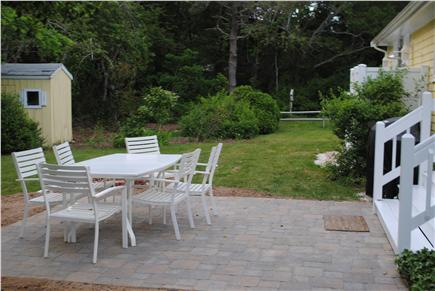 East Sandwich Cape Cod vacation rental - Patio and spacious yard