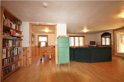 North Eastham Cape Cod vacation rental - Downstairs Playroom with foosball table