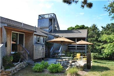 North Eastham Cape Cod vacation rental - Choose to sit in the sun on the patio or shade on the porch