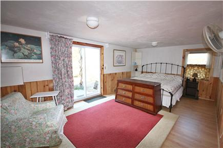 North Eastham Cape Cod vacation rental - 3rd bedroom with king bed opens to private patio