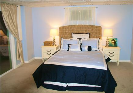 Brewster Cape Cod vacation rental - Newly finished basement bedroom with Queen size bed