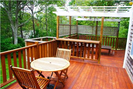 Brewster Cape Cod vacation rental - Enjoy Coffee in the Morning Sun