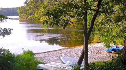 Brewster Cape Cod vacation rental - Private Beach on Blueberry Pond just 3/10 mile away