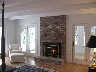 Kingston MA vacation rental - No book is ever boring, read next to your fire roaring!