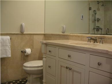 Kingston MA vacation rental - Feel the power of your Jerusalem Stone Bath and Shower!