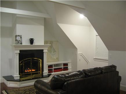 Kingston MA vacation rental - It's easy to become a loafer while relaxing in this sofa!
