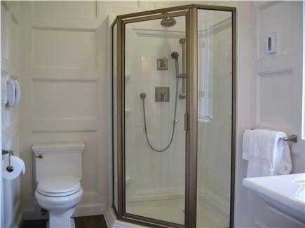 Kingston MA vacation rental - Your Bath is definitely showboating with all this Wainscoting!