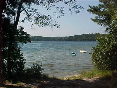 Wellfleet Cape Cod vacation rental - Higgins Pond, a 5-minute walk away also