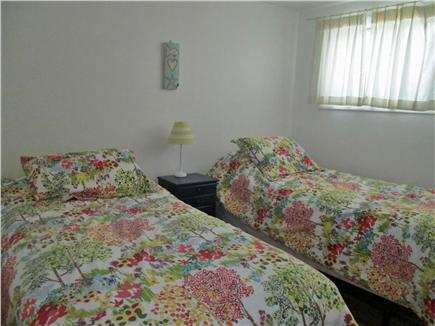 South Yarmouth Cape Cod vacation rental - Bedroom #3 - Two twin beds with nightstand and closet
