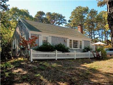Chatham Cape Cod vacation rental - Another view of front of house; hammock not shown