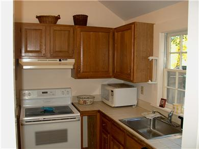 Chatham Cape Cod vacation rental - Fully eqipped kitchen with cathedral ceiling/sky-lights