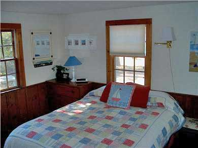 Chatham Cape Cod vacation rental - Master bedroom; new queen mattress; bathroom with shower
