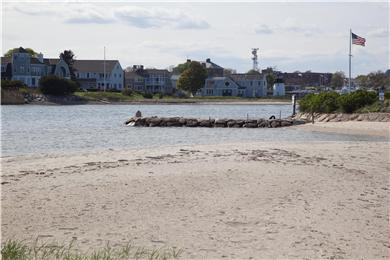 West Yarmouth Cape Cod vacation rental - View of Beach from deck