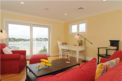 West Yarmouth Cape Cod vacation rental - Great Room with deck