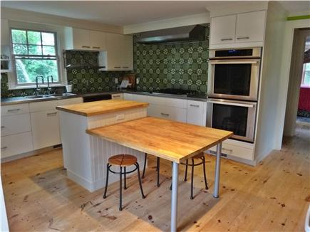 South Truro Cape Cod vacation rental - Cooking is a pleasure with 2 ovens, 2 sink taps and 2 cooktops.