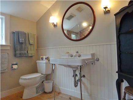 South Truro Cape Cod vacation rental - Master bath (all bedrooms have en suite bathrooms).