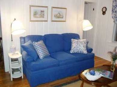 Eastham Cape Cod vacation rental - Open living/dining room