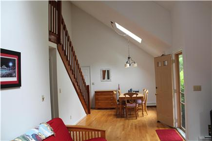 West Falmouth/Old Silver Beach Cape Cod vacation rental - Dining area - or game table to us!
