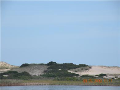 Truro Cape Cod vacation rental - View from the living room, kitchen door and master bedroom