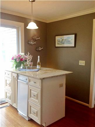 Harwich Cape Cod vacation rental - Granite Island is great for sharing wine and cheese!