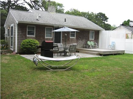 Hyannis Cape Cod vacation rental - Back yard - relax & grill after a day at the beach or shopping