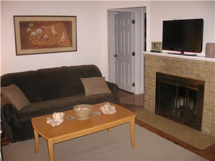 Hyannis Cape Cod vacation rental - Comfortable Living room- flat screen TV & full size sleeper couch