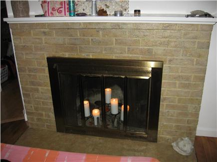 Hyannis Cape Cod vacation rental - Cozy fireplace