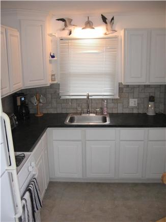 Hyannis Cape Cod vacation rental - IMMACULATE-  kitchen- GAS stove, microwave, toaster oven, coffee