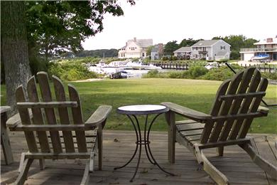 East Falmouth Cape Cod vacation rental - View from backyard deck.