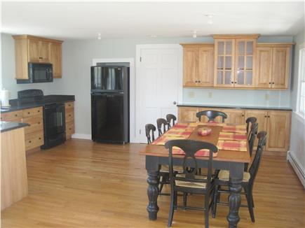 East Falmouth Cape Cod vacation rental - Dining area.