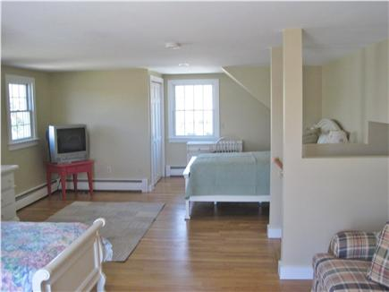 East Falmouth Cape Cod vacation rental - Upstairs bedroom with deck.