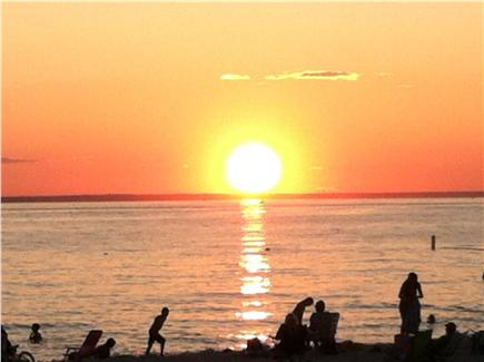 North Falmouth Cape Cod vacation rental - Sunset at the beach