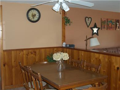 Mashpee, Popponesset Cape Cod vacation rental - Kitchen Table Seating for 6