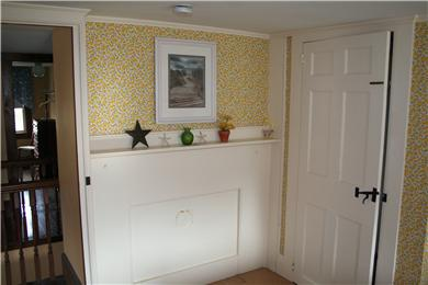 Chatham Cape Cod vacation rental - 1 of 4 antique fireplaces, this in upstairs queen bedroom