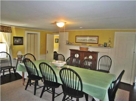 Chatham Cape Cod vacation rental - Dining room accommodates 8-10 people