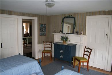 Chatham Cape Cod vacation rental - First floor bedroom-could be used as a master bedroom