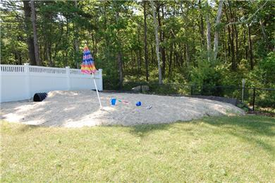 Falmouth Cape Cod vacation rental - Check out this sandpit for playing