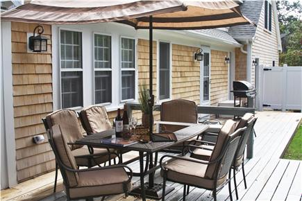 Brewster Cape Cod vacation rental - Comfortable seating for 6 on the deck
