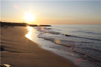 Brewster Cape Cod vacation rental - Beautiful Bay beach is just a tenth of a mile away!