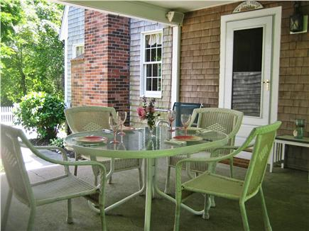 Orleans Cape Cod vacation rental - The protected breezeway for outdoor living!