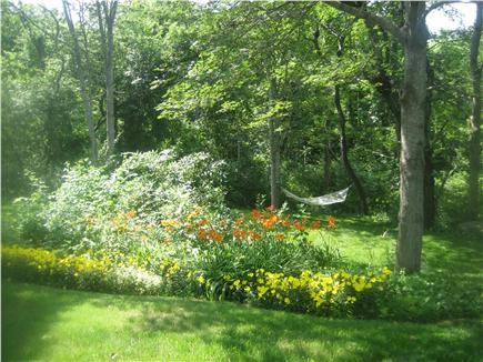 Orleans Cape Cod vacation rental - Large private back yard to play, relax or grill.