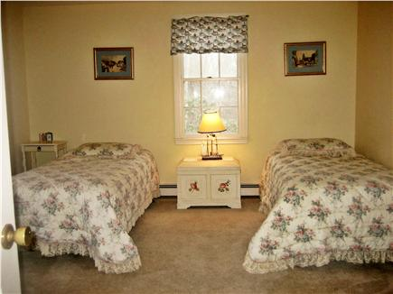 Orleans Cape Cod vacation rental - First floor, king bed converts to twins, adjacent bath w/shower.