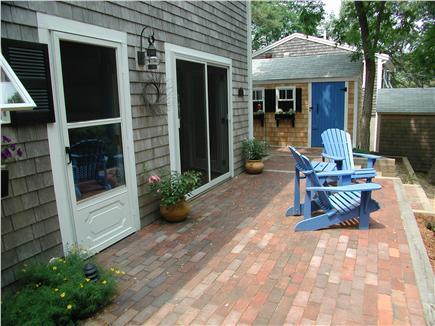 "South Wellfleet Cape Cod vacation rental - Lower ""sunrise"" patio."