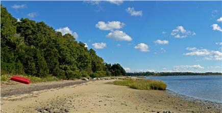East Orleans Cape Cod vacation rental - The beach - just a 2-minute walk away - at low tide