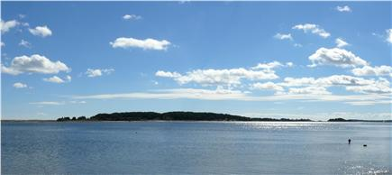 East Orleans Cape Cod vacation rental - View of Little Pleasant Bay from steps to beach