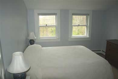 Dennis Cape Cod vacation rental - Blue master bedroom with 13'' mattress
